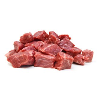 Fresh Angus Beef Diced Cubes available online at Vegberry in Dubai, UAE