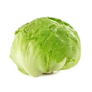 Fresh Iceberg  Lettuce available online at Vegberry in Dubai, UAE